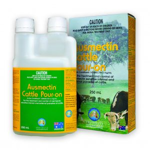IAH Ausmectin Cattle Pour On 250ml - Discount Animal Products