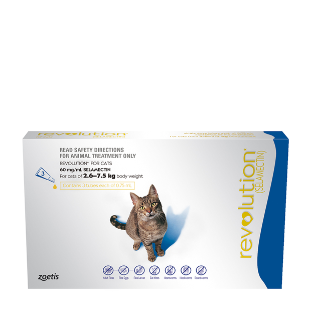 Revolution Cat Blue wormer