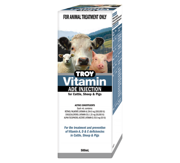 Vitamin ADE Injection 500mL