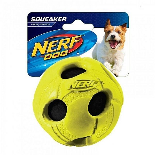 Nerf Medium Rubber Wrapped Bash Ball Green