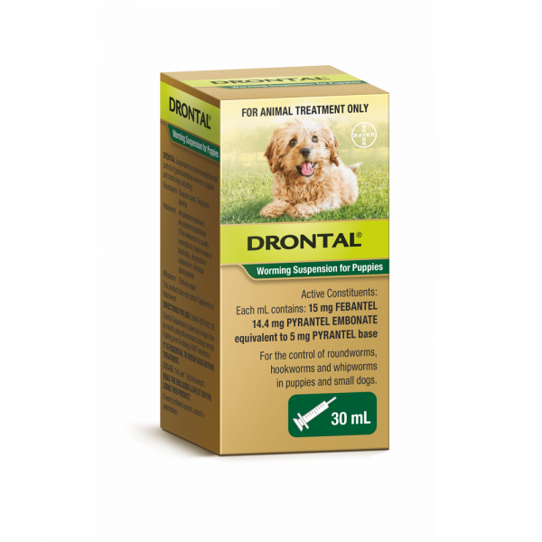Drontal Puppy Worming Suspension 30mL