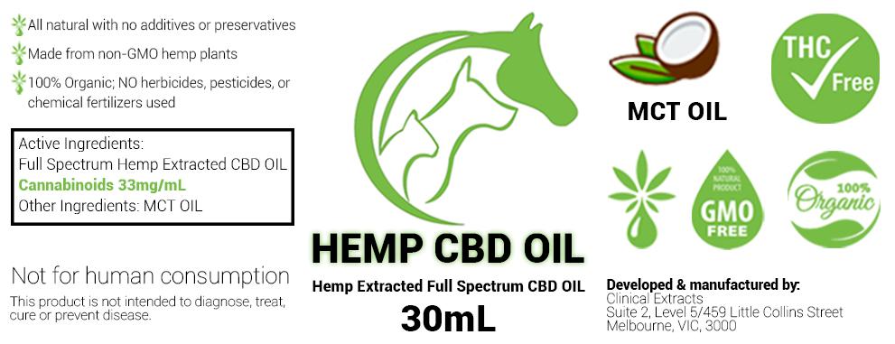 Hemp CBD Oil 30ml, Quality CBD Hemp Oil